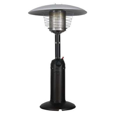 11,000 BTU Mocha LP Table Top Gas Patio Heater