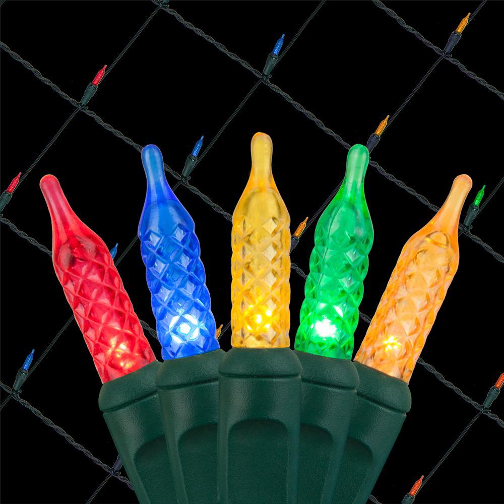48 in. x 72 in. 100-Light M5 LED Multi-Color Net Light Set