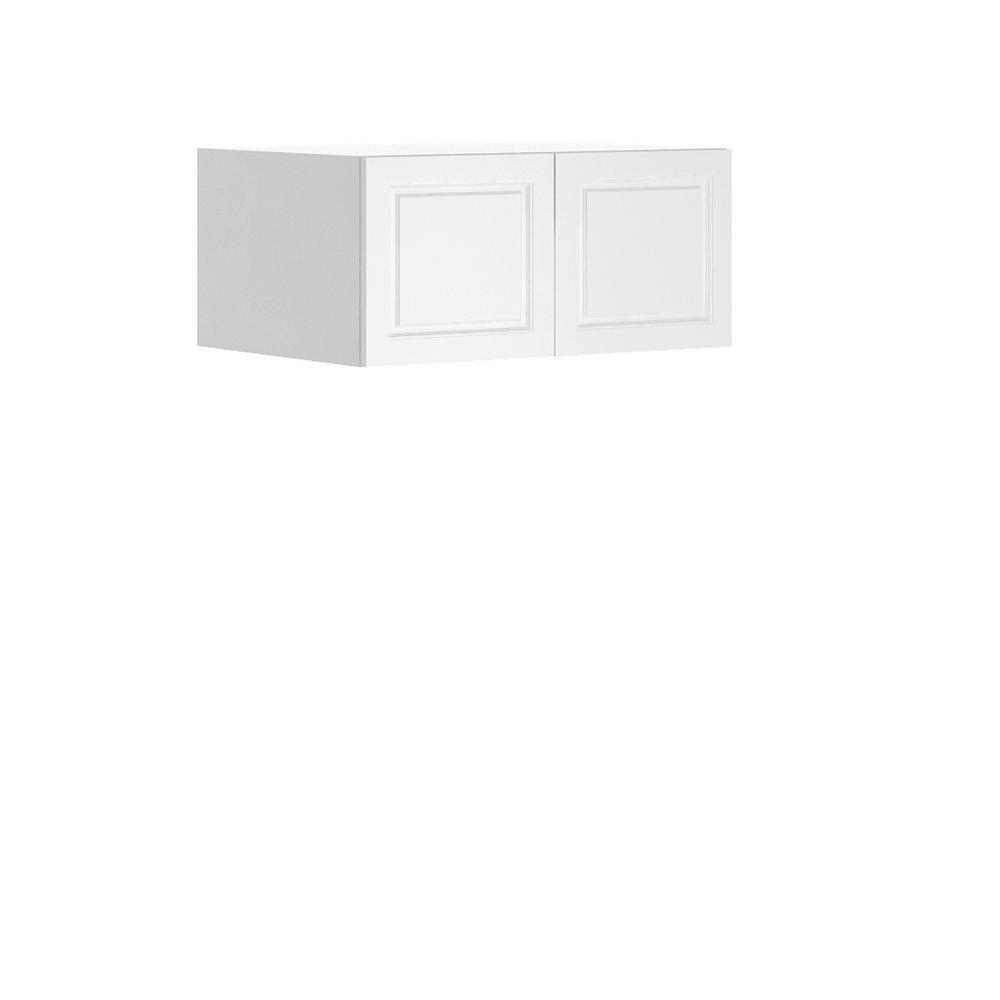 Thermofoil Kitchen Cabinet Doors: Eurostyle Lausanne Ready To Assemble 33x15x24.5 In