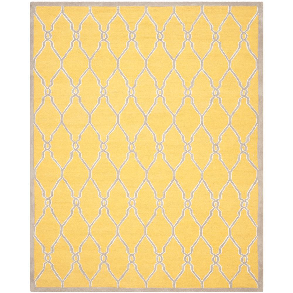 Cambridge Gold/Ivory 4 ft. x 6 ft. Area Rug