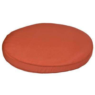 Torquay Quarry Red Replacement Outdoor Ottoman Cushion