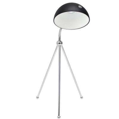 20 in. Capello Silver Polished LED Indoor Table Lamp