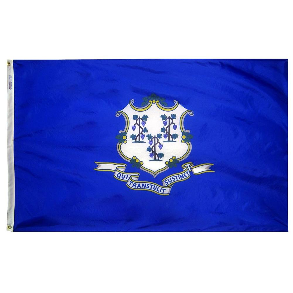 4 ft. x 6 ft. Connecticut State Flag