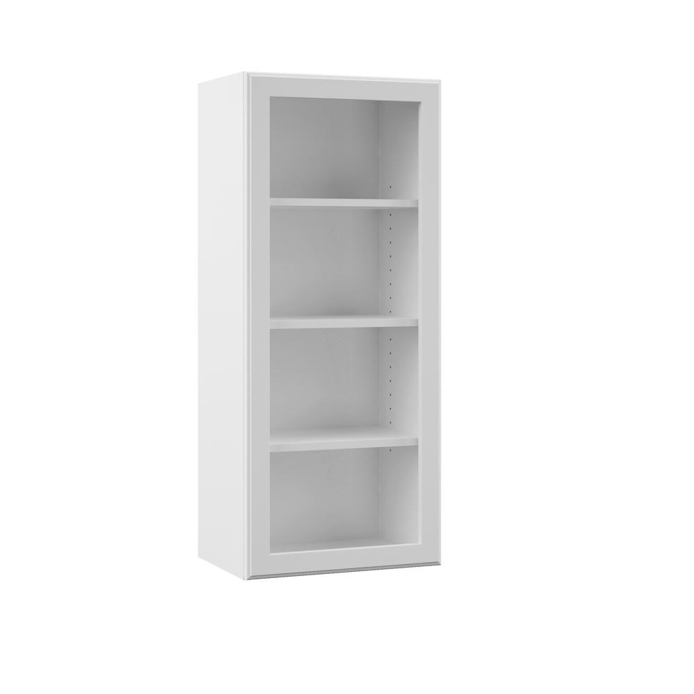 Merveilleux Wall Open Shelf Kitchen Cabinet In White