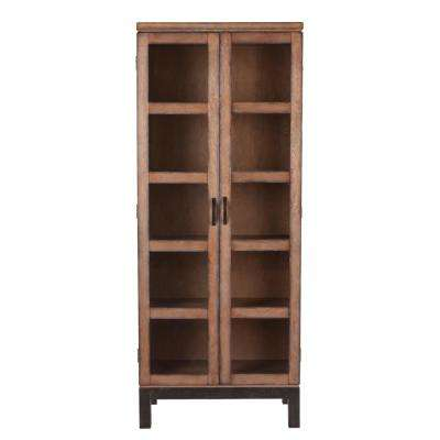 Rosina Curio Brown Storage/Display Cabinet