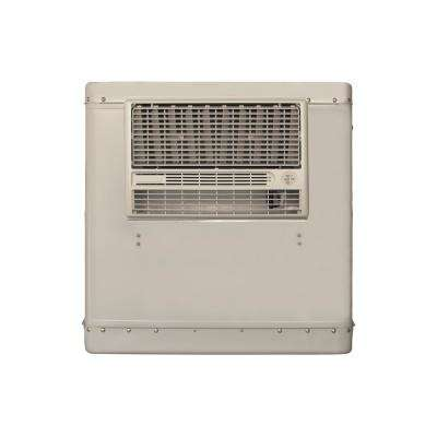 4000 CFM 115-Volt 2-Speed Front Discharge Window Evaporative Cooler for 1100 sq. ft. (with Motor and Remote Control)