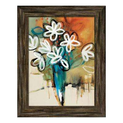 """Floral and Still Life Trance I"" by Natasha Barnes Framed Canvas Wall Art"