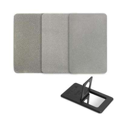 Credit Card Size Diamond Sharpening Stone (3-Pack), Coarse / Fine / Extra-Fine