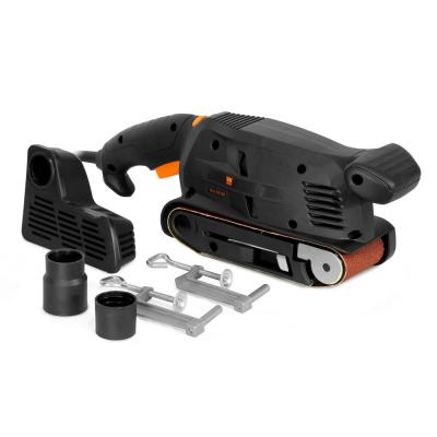 5-Amp Corded 3 in. x 18 in. Variable Speed Combination Handheld and Benchtop Belt Sander