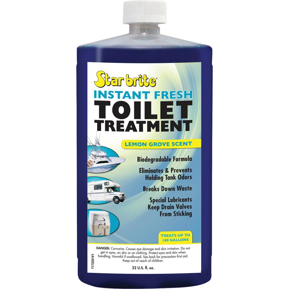 32 oz instant fresh toilet treatment lemon