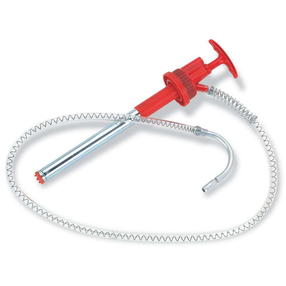 Plastic Bucket Pump with Flex Hose and Non-Drip Nozzle