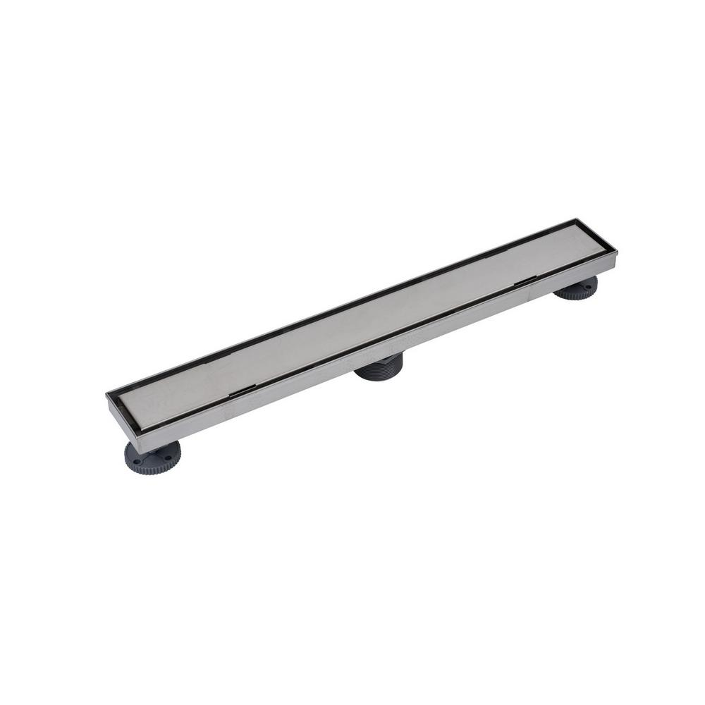 Designline 24 in. Stainless Steel Linear Drain Tile-in Grate