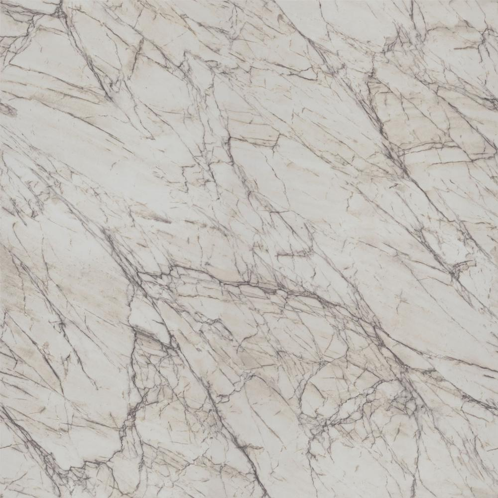 FORMICA 4 ft  x 8 ft  Laminate Sheet in 180fx Quartzite Bianco with Scovato  Finish