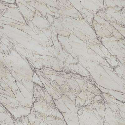 5 ft. x 12 ft. Laminate Sheet in 180fx Quartzite Bianco with Scovato Finish