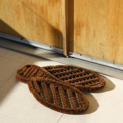 Cricket Tan 17 in. x 22 in. Coir Boot Scraper Door Mat