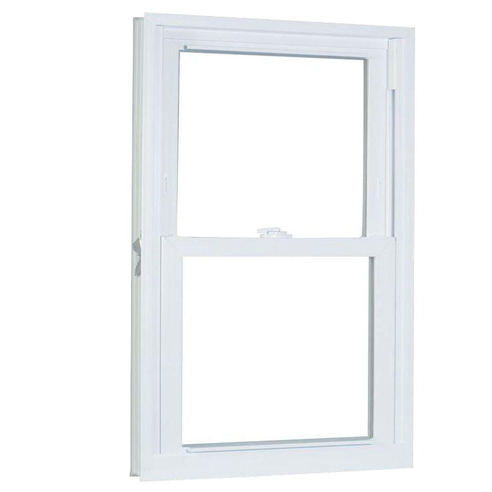 31.75 in. x 61.25 in. 70 Series Pro Double Hung White