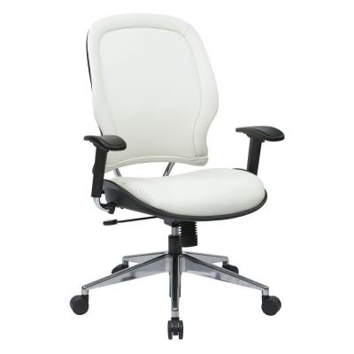 White Manager Office Chair