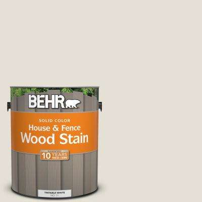 1 gal. #ECC-15-2 Light Sandstone Solid Color House and Fence Exterior Wood Stain