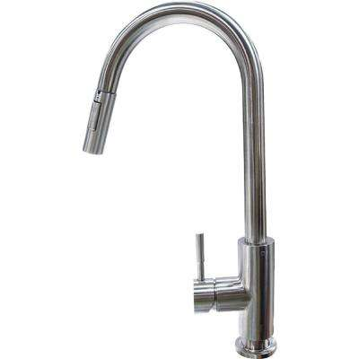 Flow Max RV Kitchen Faucet - Bullet Pull Down Shaped