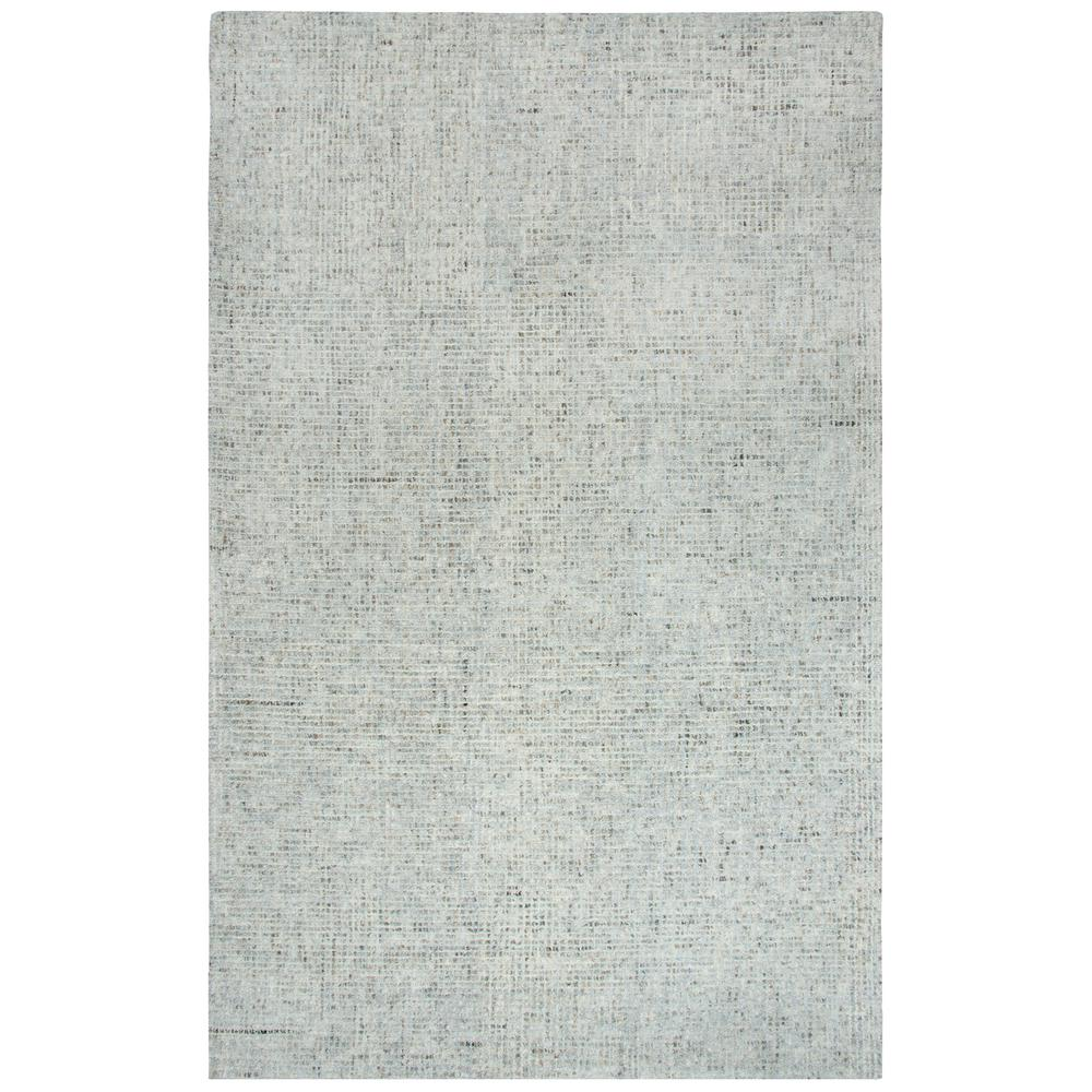 Rizzy Home Talbot Light Gray 8 ft. x 11 ft. Rectangle Area Rug