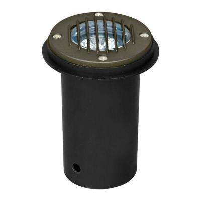 Outdoor Ground Lights Ground well lights landscape lighting the home depot brantley 1 light bronze outdoor in ground well light workwithnaturefo