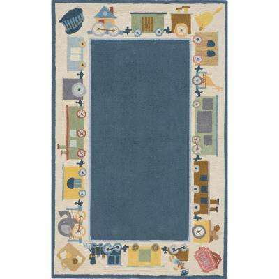 Lil Mo Classic Blue 4 ft. x 6 ft. Area Rug