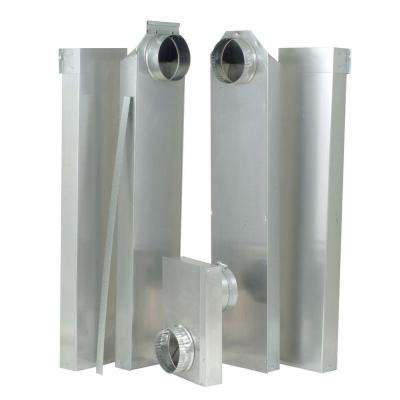 29-77 in. In-the-Wall Dryer Vent Periscope