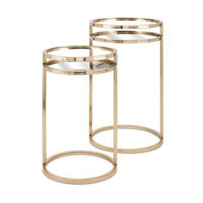 Dylan Gold Accent Tables (Set of 2)