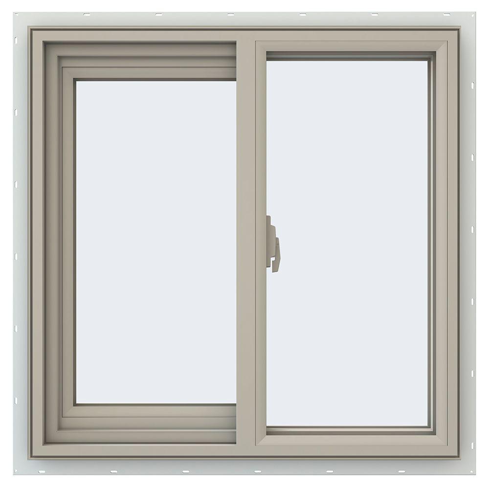 Product Sliding Windows : Tafco windows in utility left hand single
