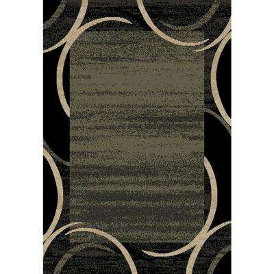 Pasha Collection Green 5 ft. x 7 ft. Area Rug