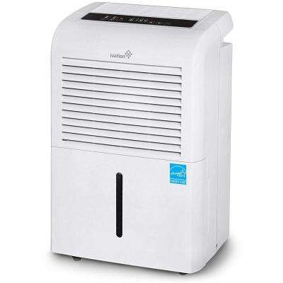 Ivation 70-Pint ENERGY STAR Dehumidifier with Continuous Pump, Large Capacity Compressor for Spaces up to 4,500 sq. ft.