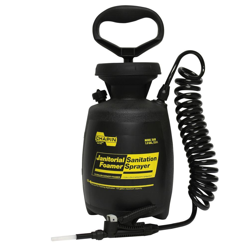 1 Gal. Industrial Janitorial/Sanitation Poly Foamer/Sprayer