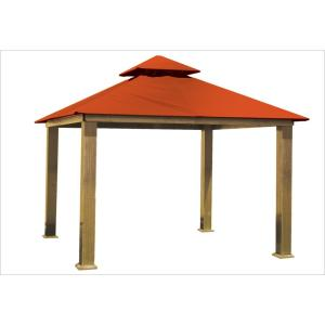 14 ft. x 14 ft. Tangerine Gazebo by