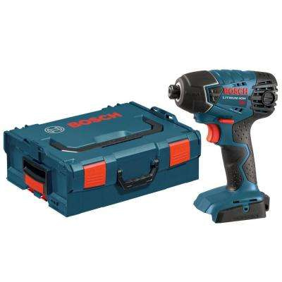 18 Volt Lithium-Ion Cordless Electric 1/4 in. Variable Speed Impact Driver with L-BOXX-2 Hard Case (Tool-Only)