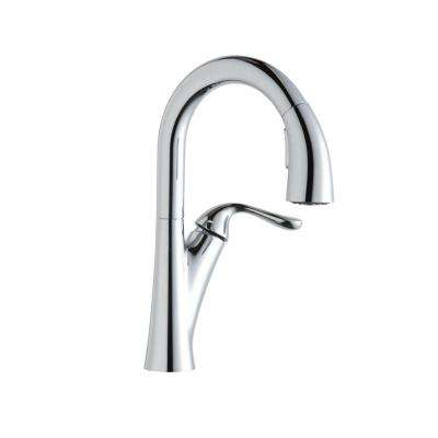 Harmony Single-Handle Pull-Down Sprayer Bar Faucet in Chrome