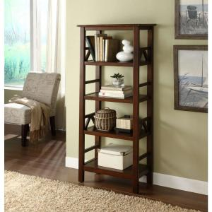 customers who viewed this item bought u2026 titian antique tobacco open bookcase linon home decor - Linon Home Decor