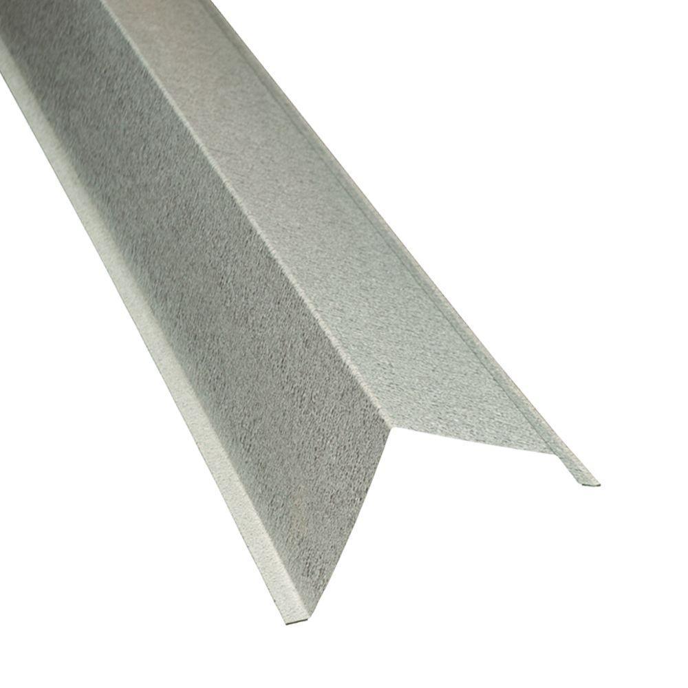 Home Depot Metal Trim : Metal sales ft in galvalume gable trim hd