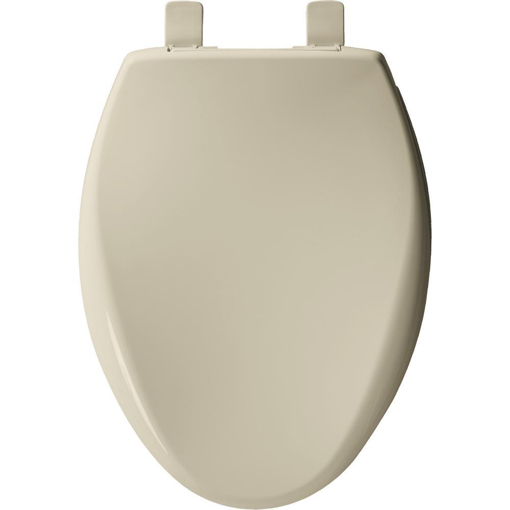 BEMIS 170 006 Toilet Seat ELONGATED Bone Plastic