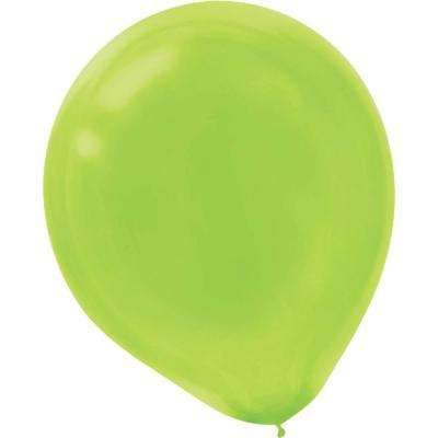 9 in. Kiwi Latex Balloons (20-Count, 18-Pack)