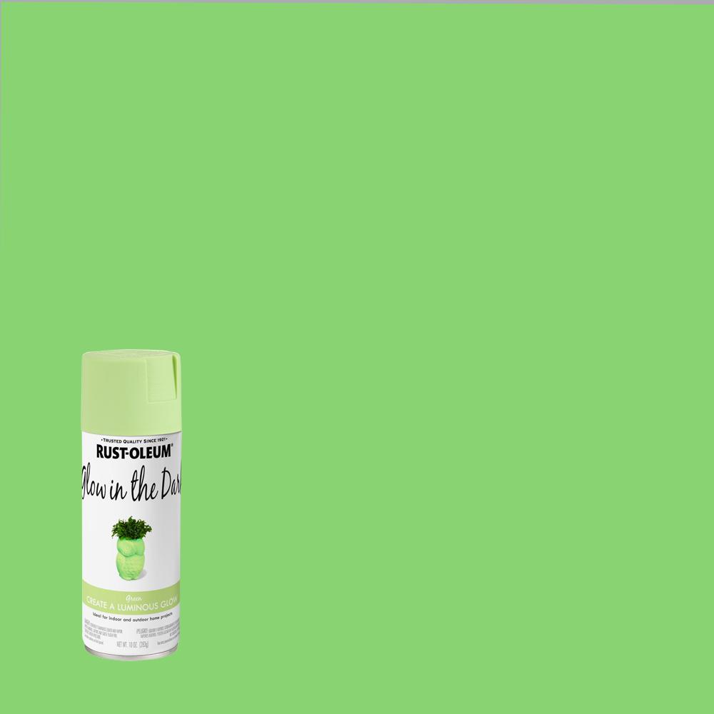 Rust Oleum Specialty 10 Oz Glow In The Dark Spray Paint