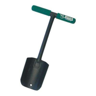 14-Gauge Steel Tulip Spade with T-Style Handle