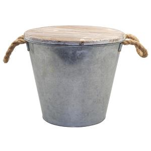 80 oz. Citronella Galvanized Metal Bucket Candle