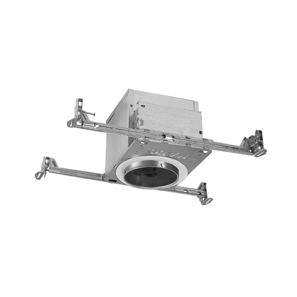Halo H99 4 in. Aluminum Recessed Lighting Housing for New Construction Ceiling, Insulation Contact, Air-Tite (6-Pack)