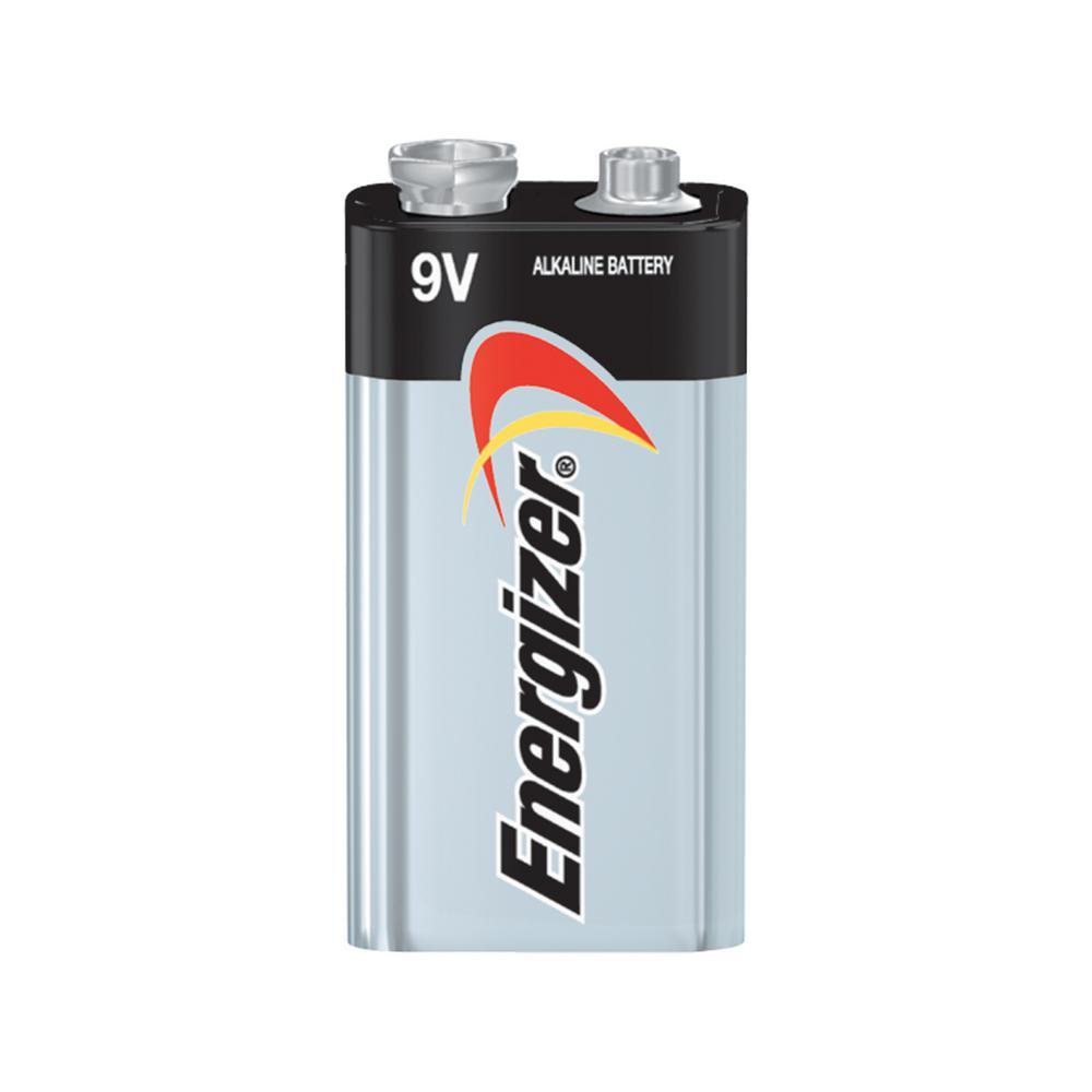energizer max alkaline 9 volt battery 2 pack 522bp 2 the home depot. Black Bedroom Furniture Sets. Home Design Ideas