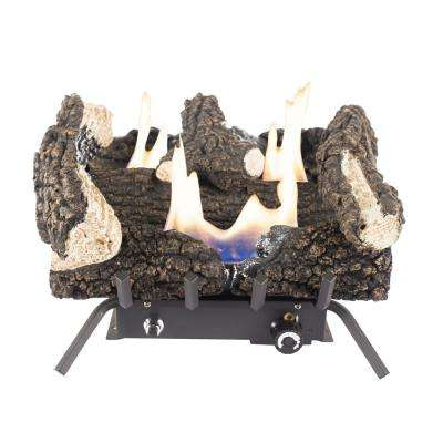 Wildwood 18 in. Vent-Free Dual Fuel Gas Fireplace Logs