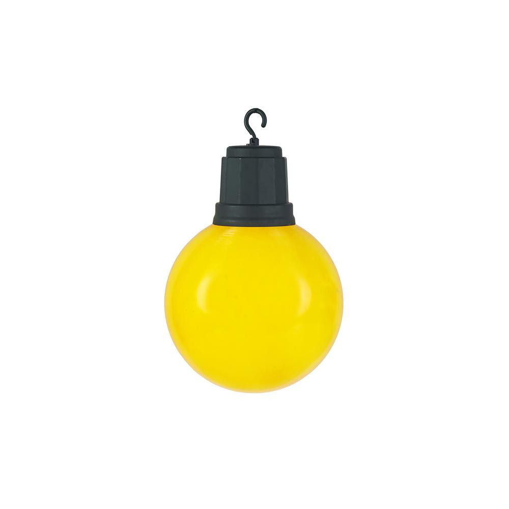 home accents holiday 13 in light up christmas yellow ornament