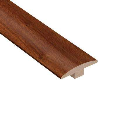Santos Mahogany 3/8 in. Thick x 2 in. Wide x 78 in. Length Hardwood T-Molding