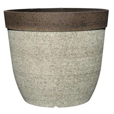 Coventry 11.5 in. Dia Drop-In Resin Planter for Indoor Plants