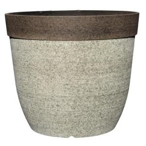 Coventry 11.5 inch Dia Drop-In Resin Planter for Indoor Plants by