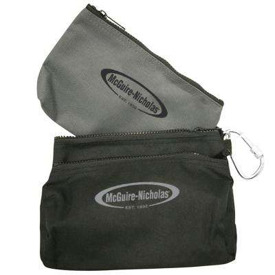 11.5 in. Polyester Tool Case in Black and Grey (2-Pack)